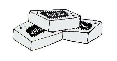 3 krabičky Ani-Muk