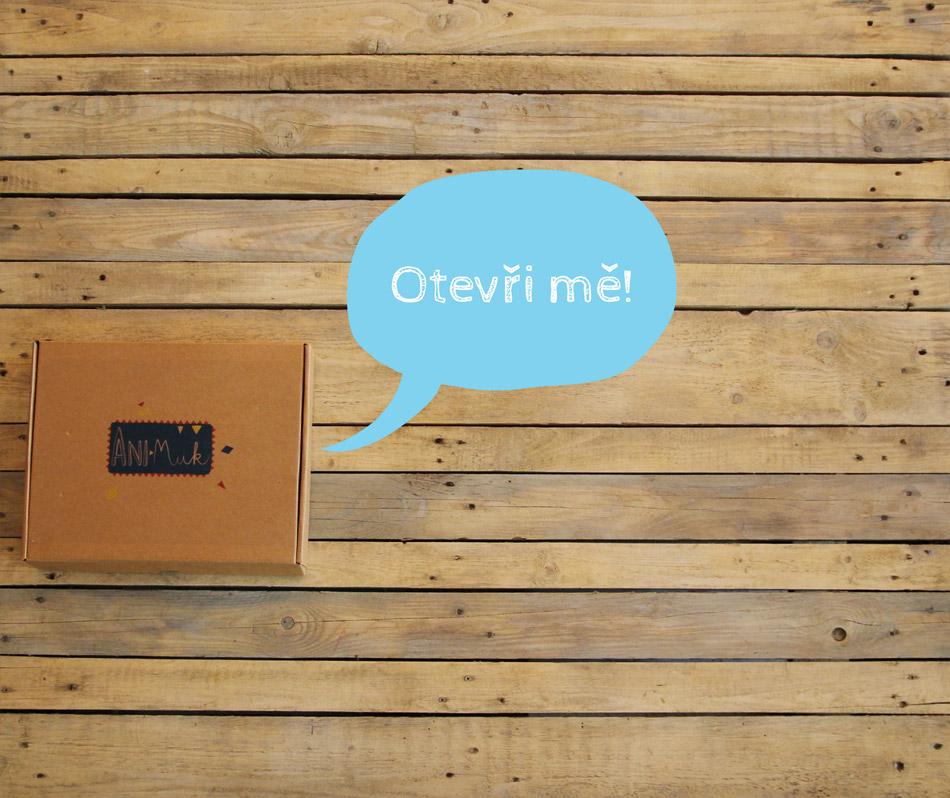 Krabička Ani-Muk zavřená