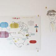 Ani-Muk indiánská mapa